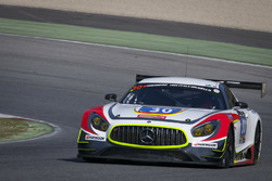 #30 Ram Racing, Mercedes AMG GT3: Tom Onslow-Cole, Paul White, Stuart Hall