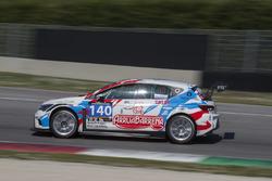#140 PCR Sport, Seat Leon Cup Racer: Harriet Arruabarrena, Antonio Aristi, Jordi Masdeu, Iñigo Vigiola