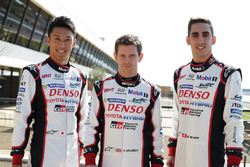 #5 Toyota Racing Toyota TS050 Hybrid: Kazuki Nakajima, Anthony Davidson, Sébastien Buemi,