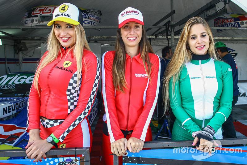 Chicas del Paddock Argentina Mirasal Sistema Free Origenes