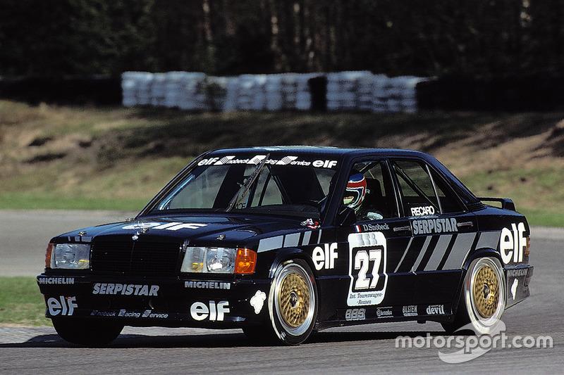 Официальный дебют производителя в DTM состоялся в 1988 году. В этом сезоне Mercedes-Benz 190 E, подготовленной AMG, удалось выиграть шесть гонок