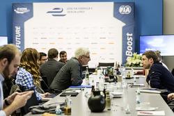 ePrix di Berlino, la conferenza stampa
