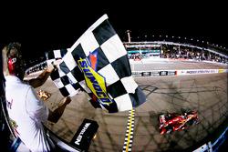 Scott Dixon, Chip Ganassi Racing, Chevrolet, mit dem Sieg
