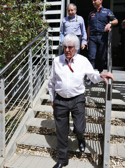 Bernie Ecclestone, Jean Todt, FIA President and Christian Horner, Red Bull Racing Team Principal