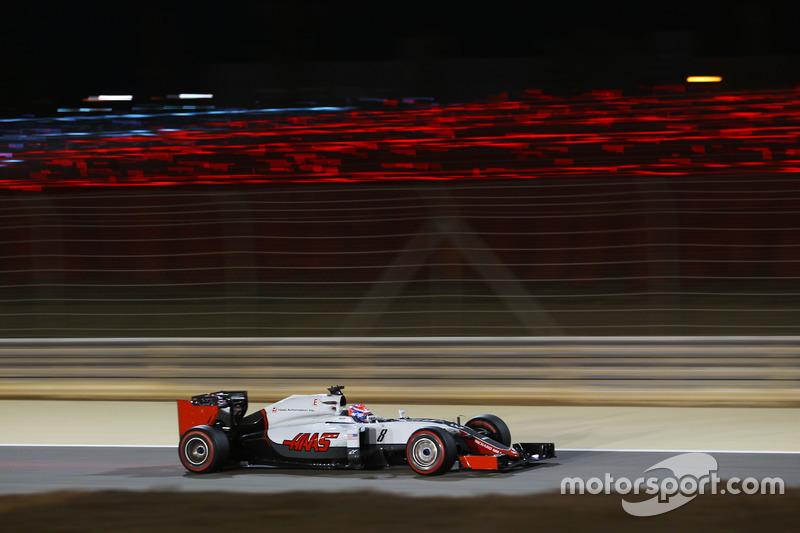 2. GP de Bahrein 2016: Romain Grosjean (5º)