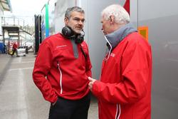 Dieter Gass,Chef DTM Audi Sport and Ulrich Baretzky, Audi Sport