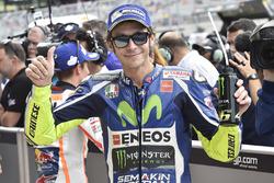 Startplatz drei für Valentino Rossi, Yamaha Factory Racing