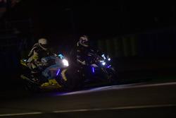 #7 Yamaha: Broc Parkes, Max Neukirchner, Ivan Silva, Igor Jerman; #76 Suzuki: Jean Edouard Aubry, Quentin Levrier, Maxime Bourdon, Alain Cottard