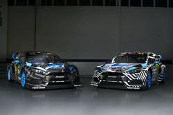 Farbdesigns von Andreas Bakkerud und Ken Block, Hoonigan Racing Division, Ford