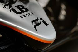 Sahara Force India F1 VJM09, Detail der Frontpartie