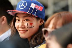 Lewis Hamilton Mercedes AMG F1 fan