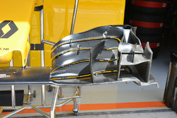 Renault Sport F1 Team front wing detail