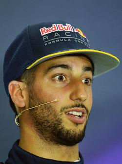 Пресс-конференция: Даниэль Риккардо, Red Bull Racing
