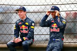 Daniel Ricciardo (Red Bull Racing) és Daniil Kvyat (Red Bull Racing)