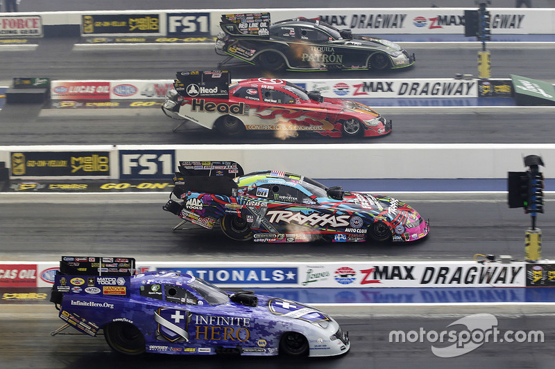 9. Alexis Dejoria, Chad Head, Courtney Force, Jack Beckman