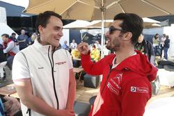 Norbert Michelisz, Honda Racing Team JAS and José María López, Citroën World Touring Car Team