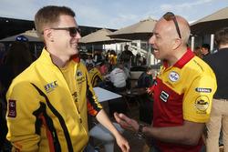Nicky Catsburg, LADA Sport Rosneft, en Tom Coronel, Roal Motorsport