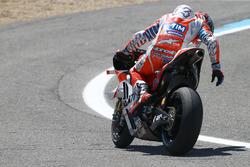 Andrea Dovizioso, Ducati Team valt uit