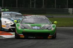 #333 Rinaldi Racing, Ferrari 458 Italia GT3: Rinat Salikhov, Marco Seefried, Norbert Siedler
