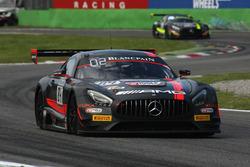 #84 HTP Motorsport, Mercedes-AMG GT3: Maximilian Buhk, Dominik Baumann, Jazeman Jaafar