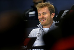 Press conference: Nico Rosberg, Mercedes AMG F1 Team