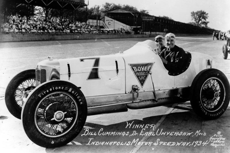 1934 - Bill Cummings, Miller