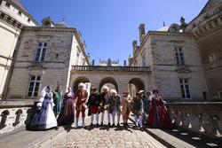 Chateau du Lude con los pilotos