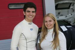 Raul Guzman Marchina, DR Formula und Fabienne Wohlwend, Aragon Racing