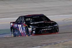 Denny Hamlin, Joe Gibbs Racing Toyota kecelakaan