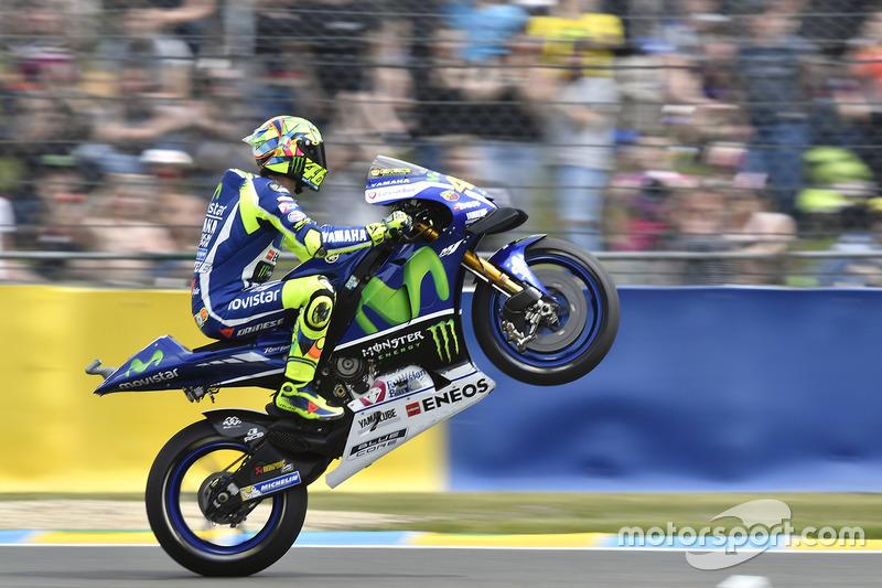 4. Valentino Rossi steigt auf