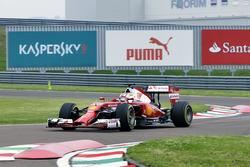 Leclerc Ferrari Testing