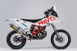 Bike of Joaquim Rodrigues, Hero MotoSports Team Rally