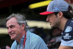 Carlos Sainz, and Carlos Sainz Jr., Scuderia Toro Rosso