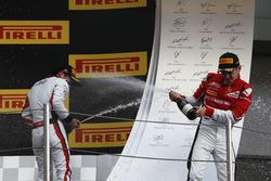 Nirei Fukuzumi, ART Grand Prix and Charles Leclerc, ART Grand Prix
