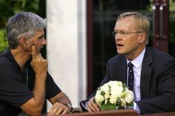 Damon Hill Ex F1 driver with Ari Vatanen