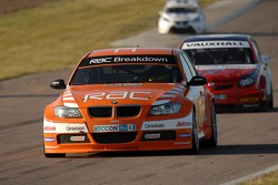 Stephen Jelley leads Andrew Jordan and Tom Chilton