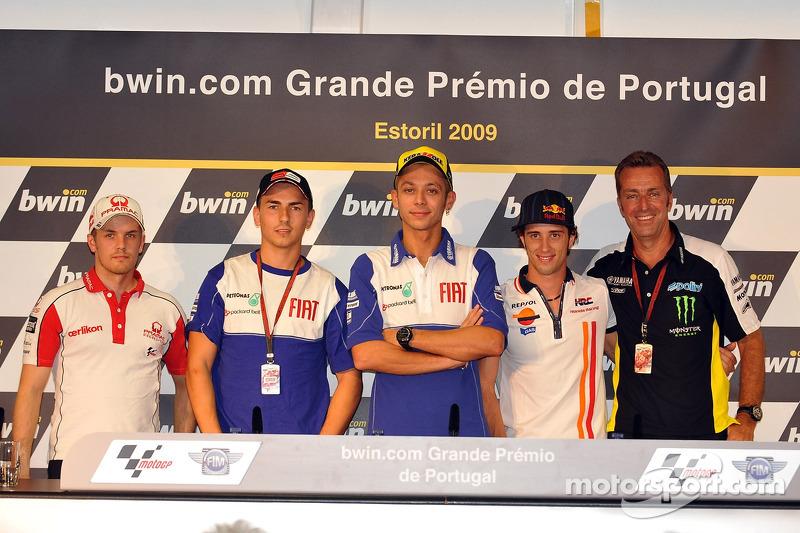 Conferencia de prensa: Mika Kallio, Pramac Racing, Jorge Lorenzo, Fiat Yamaha Team, Valentino Rossi, Fiat Yamaha Team, Andrea Dovizioso, Repsol Honda Team