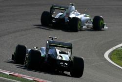 Дженсон Баттон, Brawn GP, и Рубенс Баррикелло, Brawn GP
