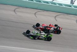 Ernesto Viso, HVM Racing, Justin Wilson, Dale Coyne Racing
