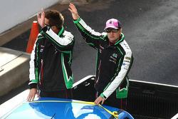 Driver Parade: #111 Wilson Security Racing: Fabian Coulthard, Michael Patrizi