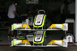 Brawn GP front wings