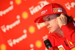 Shell press conference, Kimi Raikkonen, Scuderia Ferrari