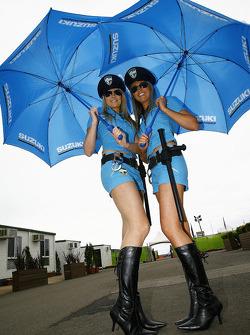 The Rizla Suzuki MotoGP girls