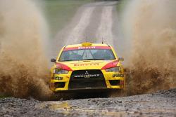 Jarkko Nikara and Jarkko Kalliolepo, Pirelli Star Driver Mitsubishi Evo X