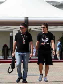 Luis Garcia Abad, Manager, Fernando Alonso, Fernando Alonso, Renault F1 Team