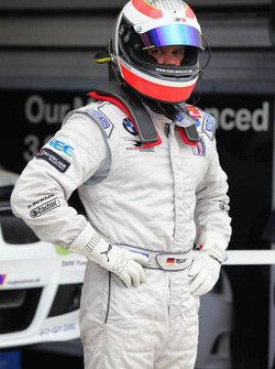 Dirk Muller ready for pit stop