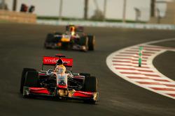Lewis Hamilton, McLaren Mercedes y Sebastian Vettel