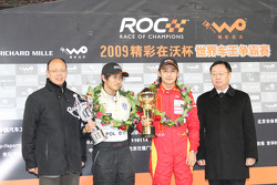 Podium: Han Han and Ho-Pin Tung