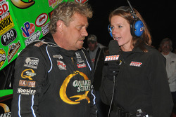 Erin Crocker interviews Steve Kinser for SPEED