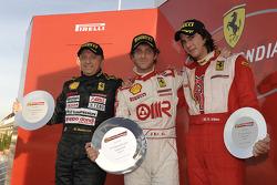 Ferrari Challenge: FCI Coppa Shell race 1 Podyum